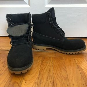 Black suede limited edition Tims x UNDFTD